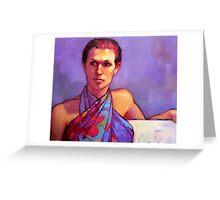 Portrait of Belinda Greeting Card
