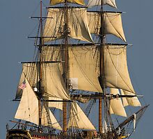 HMS  Bounty by Bill Coughlin