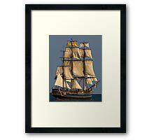 HMS  Bounty Framed Print