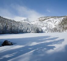 Shadows on Bear Lake, Rocky Mountain National Park, Colorado by Teresa Smith