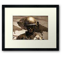 Canadian Soldier Framed Print