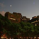 Bryant Park at Twilight by mlwaliman
