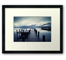 Tranquility - Lake Wakatipu NZ Framed Print