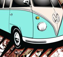 Volkswagen Tee Shirt - 23 Window Samba Sticker
