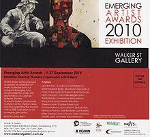 "Emerging Artists Award Invitation 2010 by Belinda ""BillyLee"" NYE (Printmaker)"