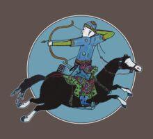 Mongolian Warrior by micklyn