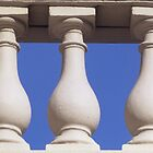 A view of the balusters by Anthony Woolley