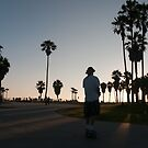 Venice Beach Skater by Chris Muscat