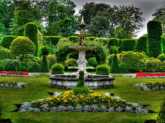 Brodsworth Gardens by Ryan Davison Crisp
