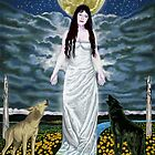 Moon Goddess by Pamela  Wells
