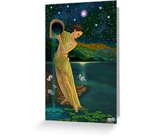 Star Goddess Greeting Card