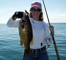 7 pound Lake Erie Smallmouth  :-) by Marcia Rubin