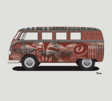 VW Barndoor Hippie Bus by Tedri