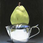 pear and milk pitcher by ria hills