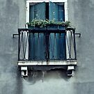 Blue Balcony by Mojca Savicki