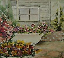 My mother-in-law garden. by Marilia Martin