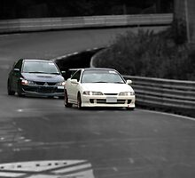 Integra vs Evo by Stretch75