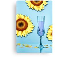 Cocktails with Van Gogh - Print Canvas Print