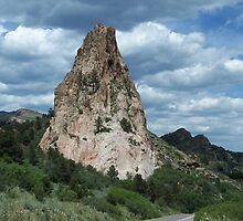 Garden of the Gods,Colorado Springs, Colorado by David  Hughes