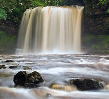 Sgwd yr Eira (Waterfall of Snow) by Steve  Liptrot