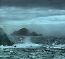 The Crossing ( 3 ) Stormy Seas. by Larry Lingard-Davis