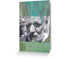 Face of Bisbee Greeting Card