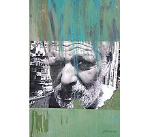 Face of Bisbee Photographic Print