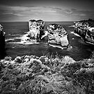 Formations off Great Ocean Road by Arek Rainczuk