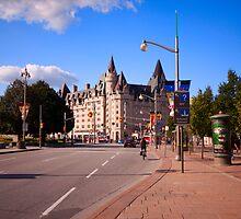 Chateau Laurier - Ottawa Luxury Hotel by Josef Pittner