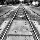 Train Tracks 2, Cedar Rapids, Iowa by Crystal Clyburn