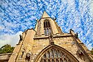 St Mary's Church, Castlegate York by Ray Clarke