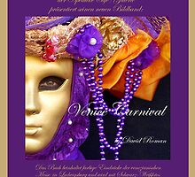 Poster for my new book Venice Carnival by DavidROMAN