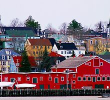 Lunenburg Waterfront by Nancy Barrett