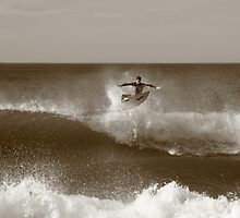 Flying Surfer  by JJImagery