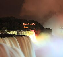 Niagara at Night! by vasu