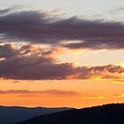 Brindabella Sunset by Paul Dean