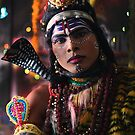 Young man Dresses as Lord Shiva  by RajeevKashyap