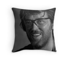 The Blacksmith Genius Throw Pillow