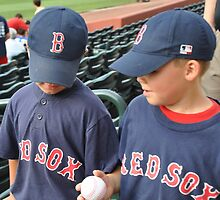 baseball buds by Laura  Donnell