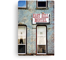 The Missing Motel Canvas Print