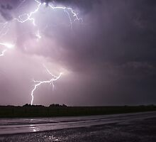 Lightning Strikes by Ronnie Rabena