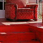 Red Chair, Red Porch by Robin Nellist