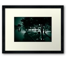 Picnic by the water Framed Print