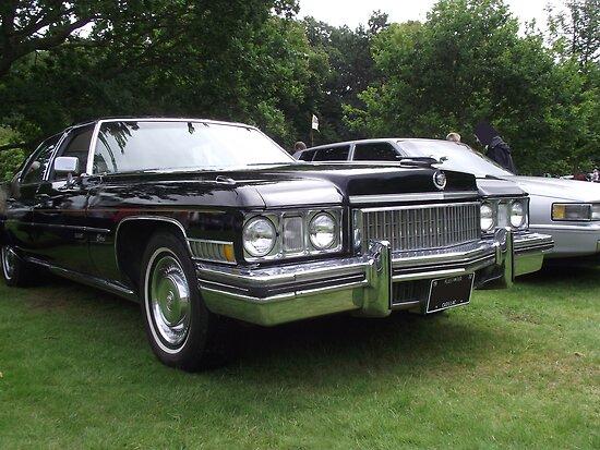 Black Cadillac 1972 Car by Dawnsuzanne