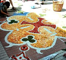 Calella flower petals decoration by patjila