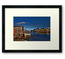 Peggy's Cove (2) Framed Print