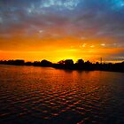 Long Island Sunset Montauk by JZdezigns