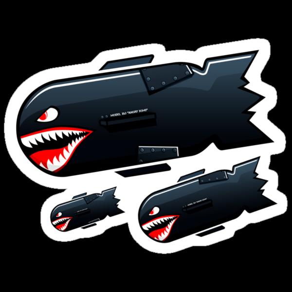 Angry Bombs. by hammyboi