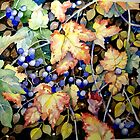 Autumn Berries by Tania Vasylenko