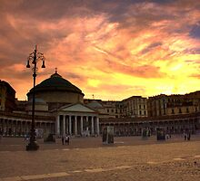 Sunset in Naples by annalisa bianchetti
